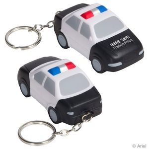 Police Car Stress Reliever Key Chain